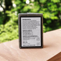 Activated Charcoal and Cedarwood Deep Cleansing Soap Bar