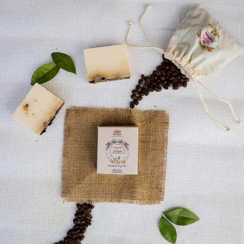 African Coffee & Cherry Blossom Soap