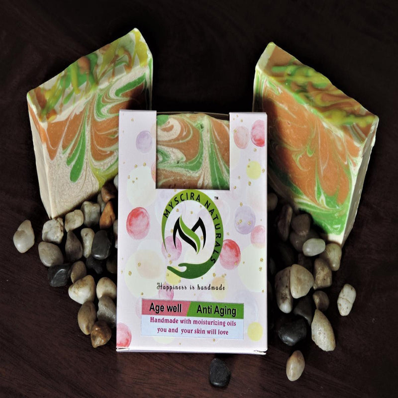 Age Well Anti-Aging Handmade Cold Process Soap