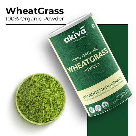 Superfoods Organic Wheatgrass Powder - 100g