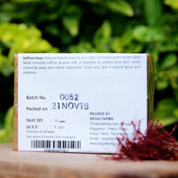 All Natural Saffron Soap (Pack of 2)