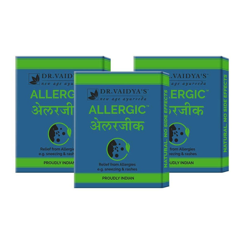 Allergic Pills (Pack of 3)