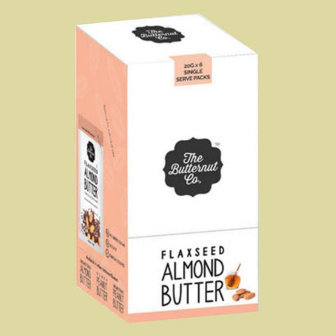 Almond Butter Flaxseed (Pack of 6)