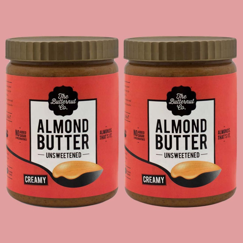 Almond Butter Unsweetened Creamy Jar