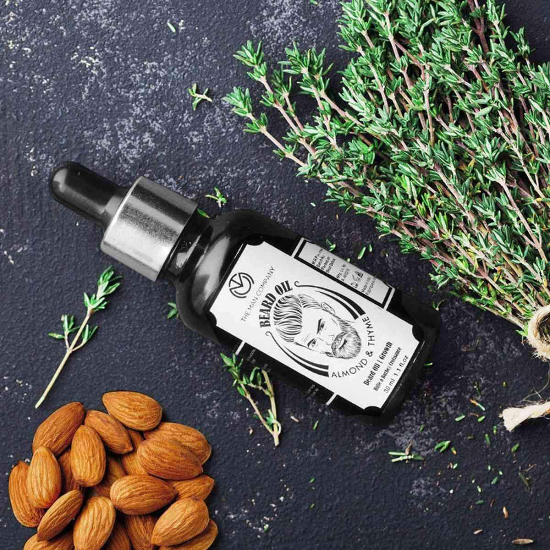 Almond & Thyme Beard Oil