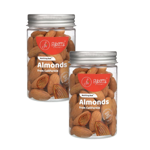 Almonds (From California) - Pack of 2, 2 x 100 g