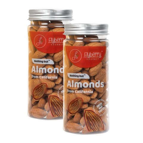 Almonds (From California) - Pack of 2, 2 x 150 g