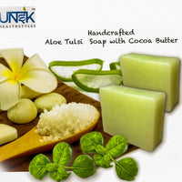 Aloe Tulsi Soap with Cocoa Butter (Pack of 3)