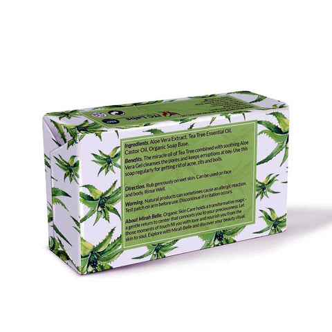 Aloe Vera Tea Tree - Anti Acne Soap