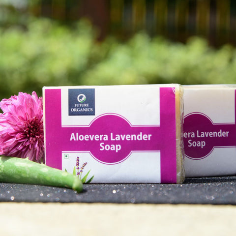 Aloe Vera Lavender Soap (Pack of 2)