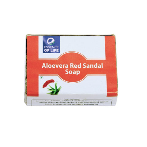 Aloe Vera & Red Sandalwood Bathing Soap (Pack of 2)
