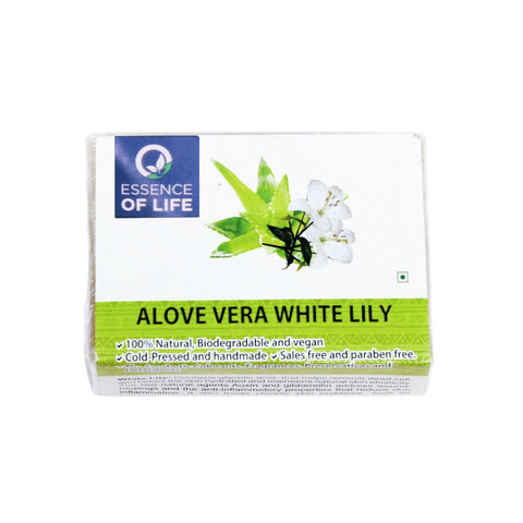 Aloe Vera & White Lily Bathing Soap (Pack of 2)