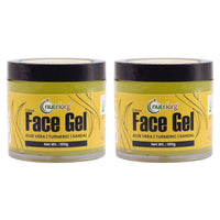 Aloevera Sandal And Turmeric Face Gel (Pack of 2)
