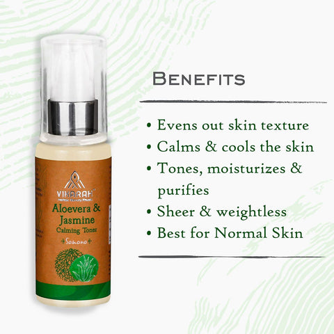 Aloevera And Jasmine Calming Toner