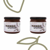 Alphonso Mango & Pepper Fruit Spread (All Natural & Pure)