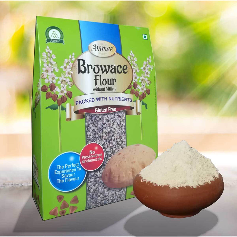 Browace Flour Without Millets