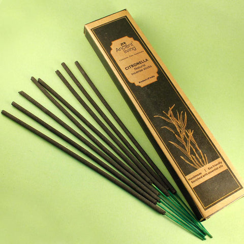Citronella Natural Incense Sticks