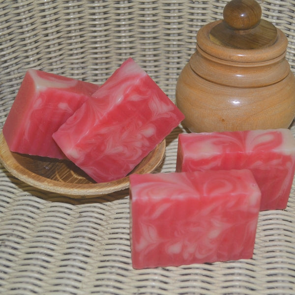 Anti-Aging Raspberry Soap (Pack of 2) at Qtrove