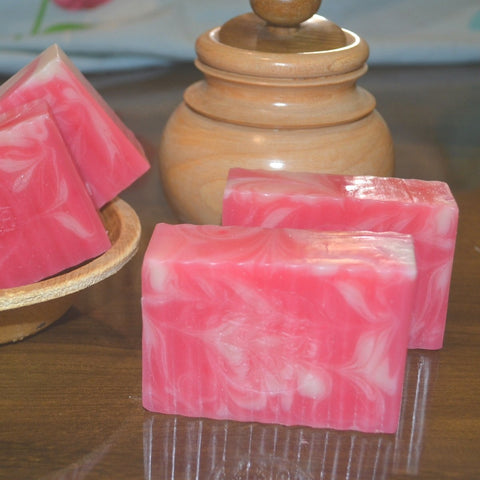 Anti-Aging Raspberry Soap (Pack of 2)