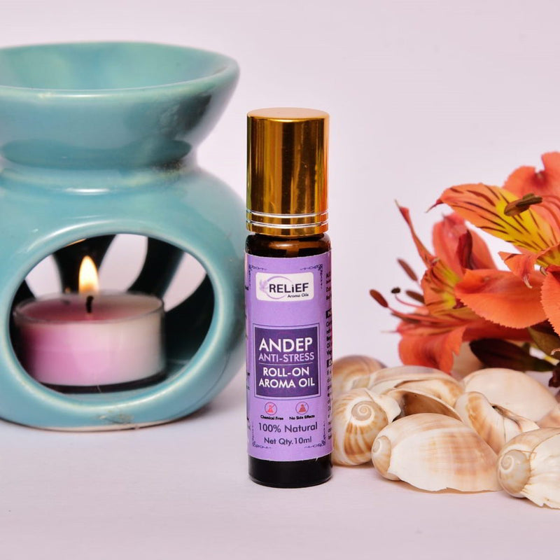 Andep Anti Stress Roll-On Aroma Oil