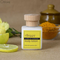 Chemical Free Citrus And Turmeric Body Lotion