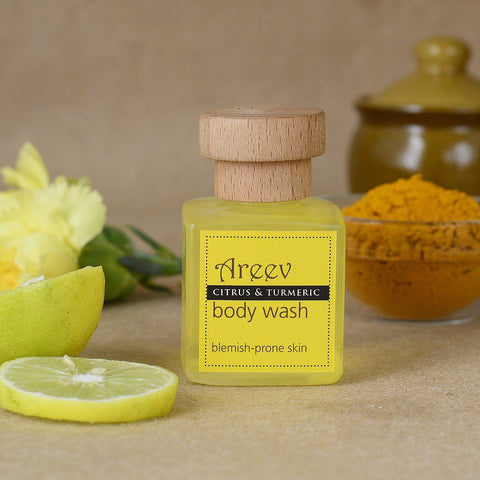 Chemical Free Citrus And Turmeric Body Wash
