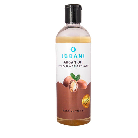 Ibbani Naturals Argan Oil For Skin and Hair (100% Pure And Cold Pressed) FSSAI Approved
