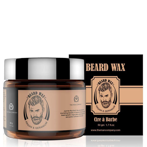 Argan & Geranium Beard Wax