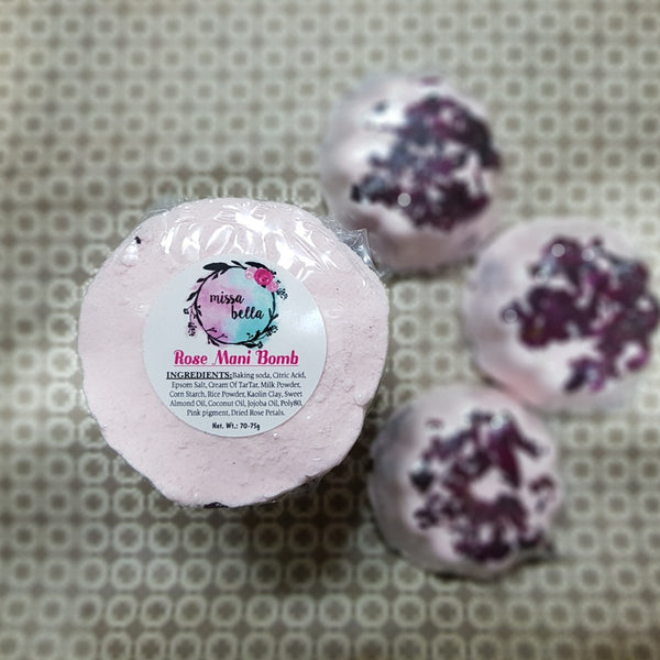 Aromatic Rose Manicure Pedicure Bomb (Pack of 2) at Qtrove