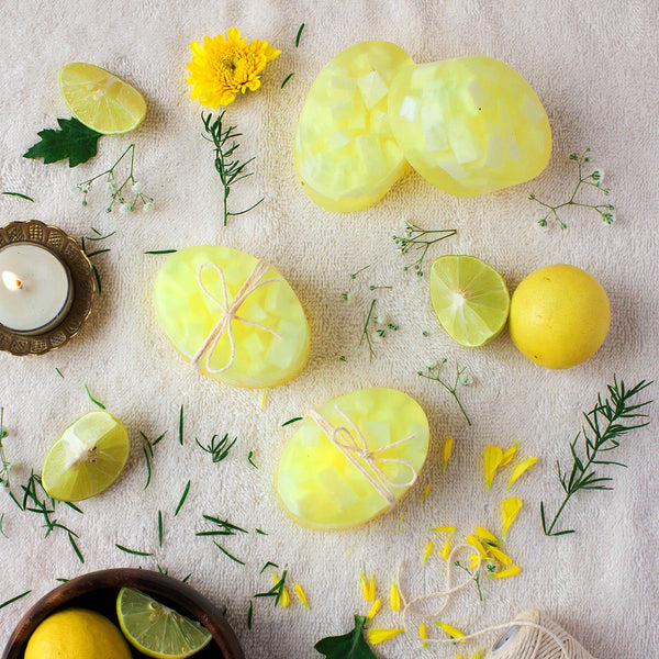 Chunky Lemon Soap (Pack of 2) at Qtrove