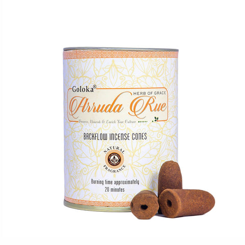 Arruda Rue Backflow Incense Cone Pack Of 3(24 Cones Each Pack)