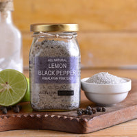 Himalayan Pink Salt(Lemon Black Pepper)-All Natural