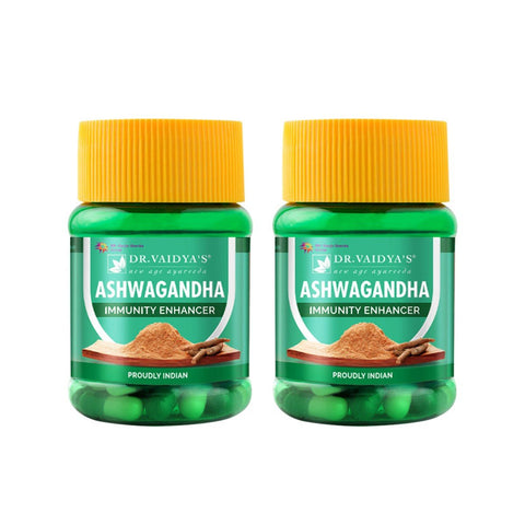 Ashwagandha Capsules (Pack of 2)