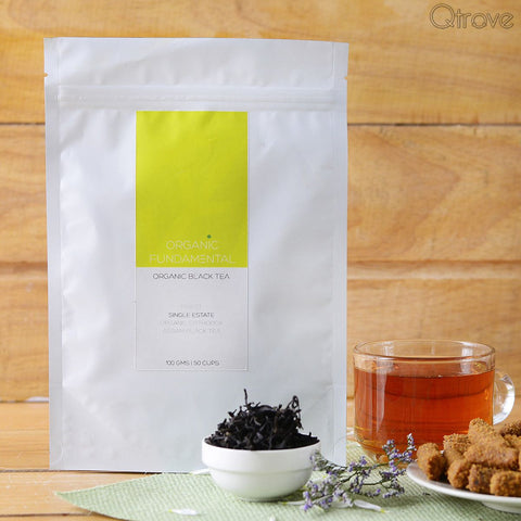 Hand-rolled Organic Single Estate Assam Orthodox Black Tea