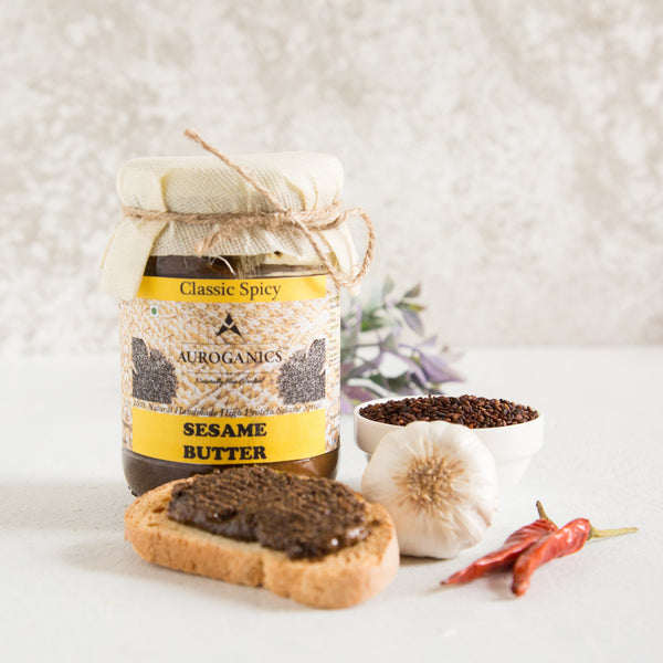 100% Natural Classic Spicy Sesame Butter at Qtrove