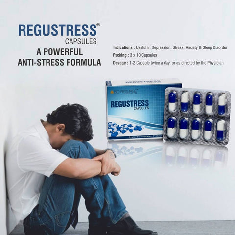 Ayurveda Health Supplements Helps to Relieve the Symptoms of Depression, Stress, Anxiety