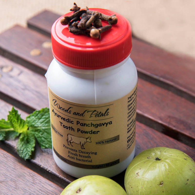 Ayurvedic Sugar Free Tooth Powder (Bone Free)