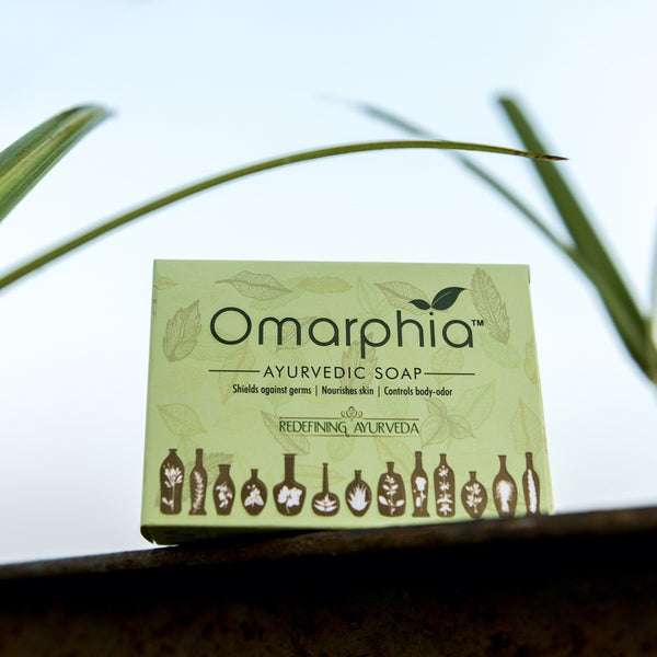13 Herb Ayurvedic Soap (Pack of 2) at Qtrove
