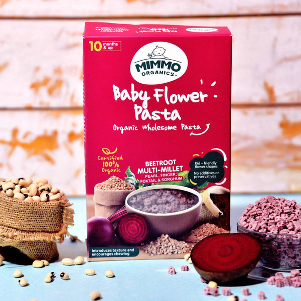 Baby Flower Multi-Millet Organic Wholesome Pasta at Qtrove