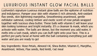 Luxurious Instant Glow Facial Balls