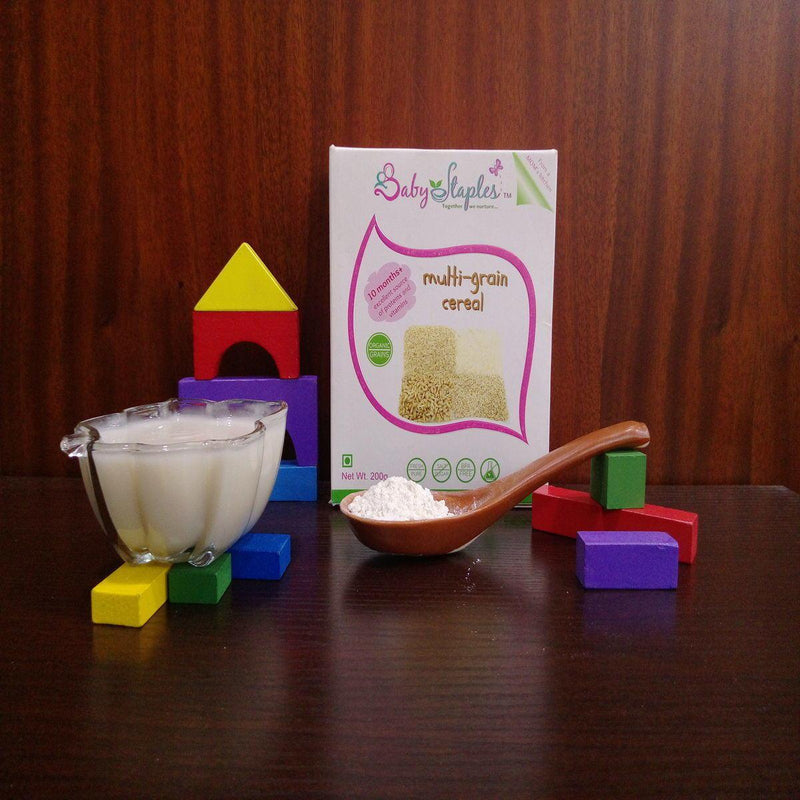 Multi-Grain Cereal (Organic Baby Food from 10 Months +)