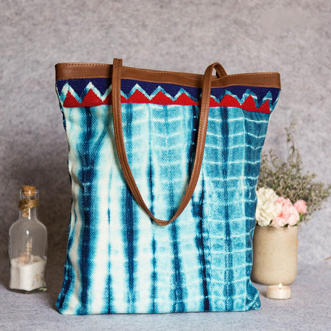 Eco-Luxury Shibori Tote