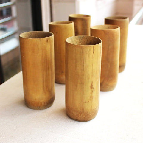 Bamboo Organic Glass (Set Of 6)