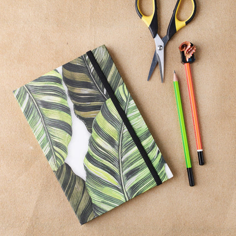 Digital Print Banana Leaf Notebook