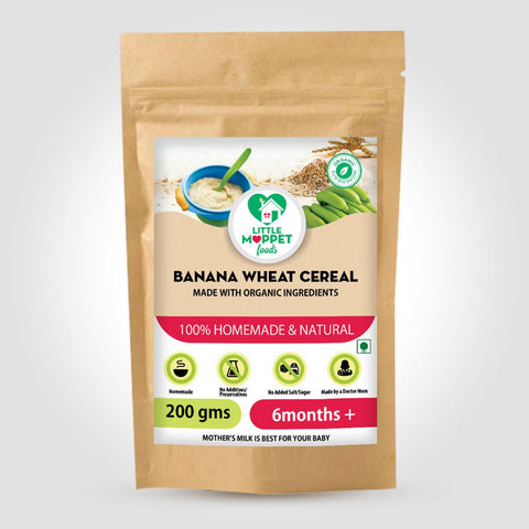 Banana Wheat Cereal