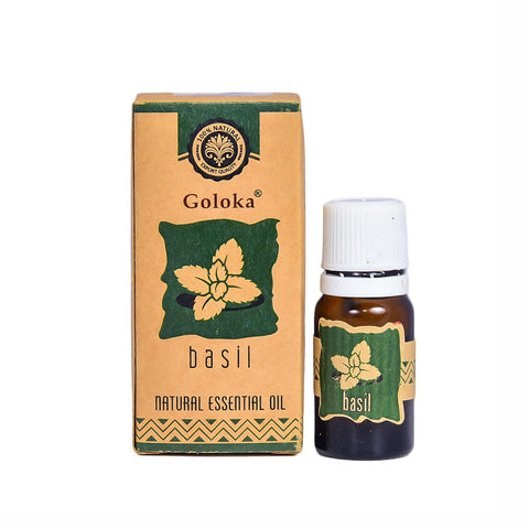 Basil Natural Essential Oil  (pack Of 4)