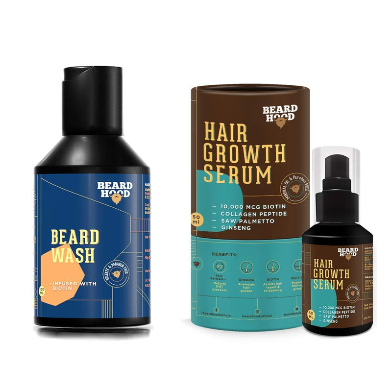 Beard Growth (Serum And Wash Combo)