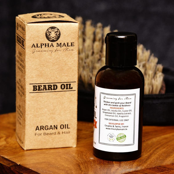 Beard Oil (Cinnamon Vanilla)(40 ml) at Qtrove