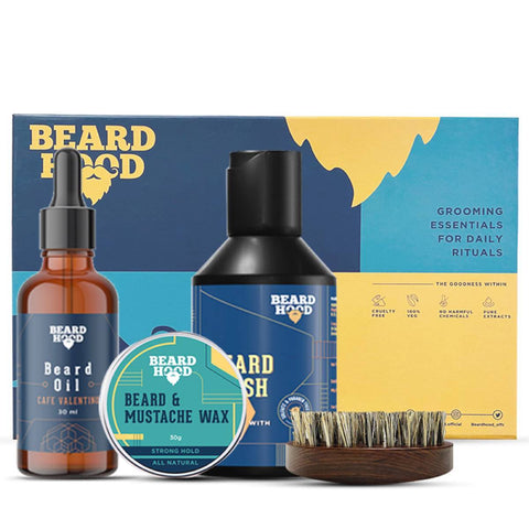 Beard Care Kit (Valentine's Gift Box For Men)