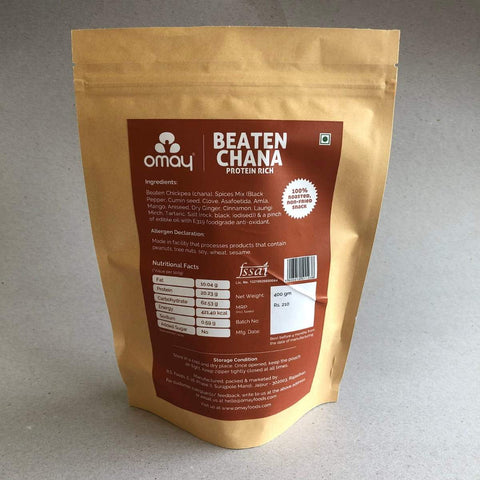 Beaten Chana - Protein Rich Pouch (Pack of 2)